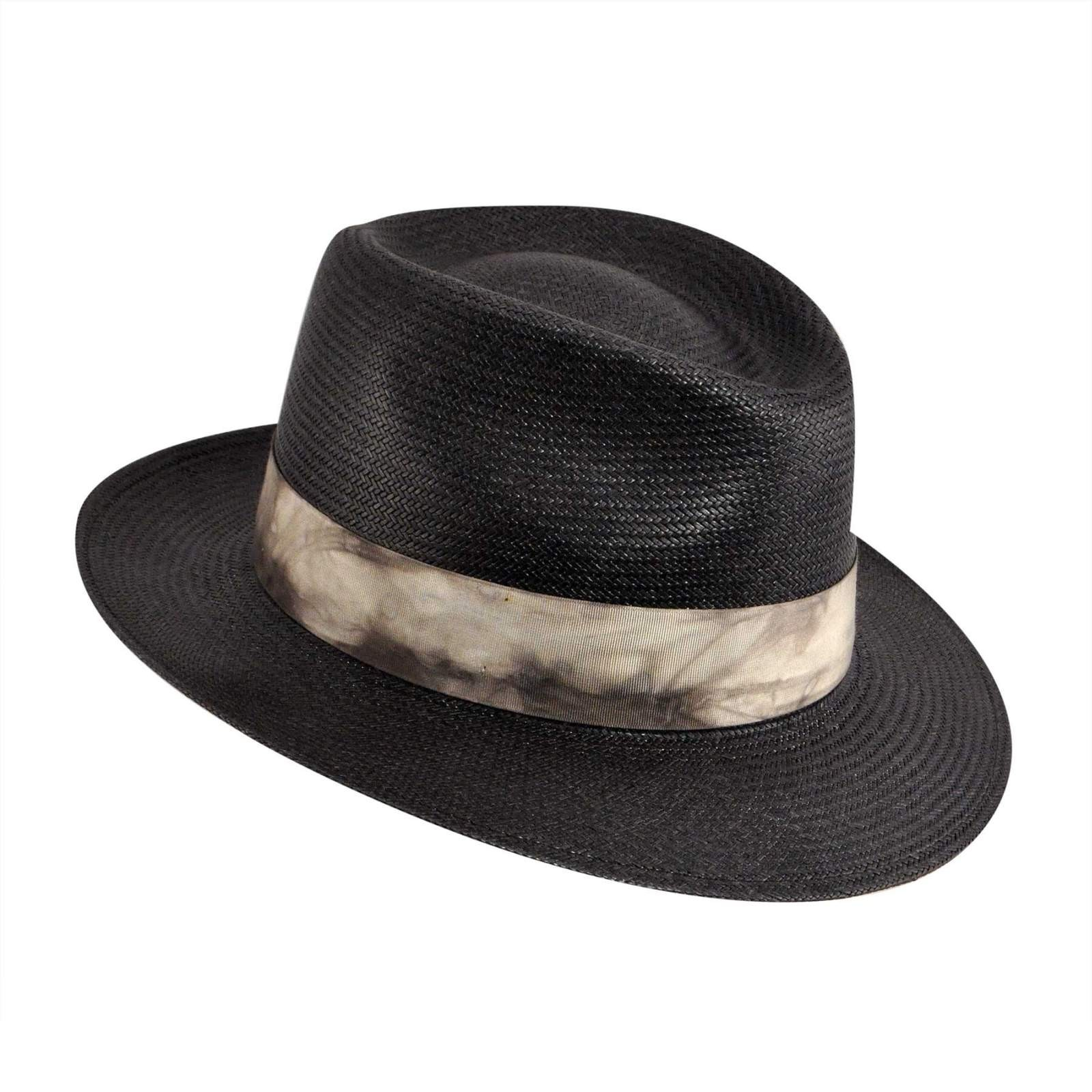 straw hair styles kangol distressed hiro trilby hat 1596