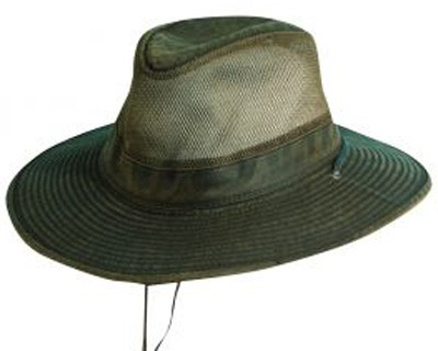 DPC Outdoor Weathered Cotton Vented Outback Hat 26b72de792c