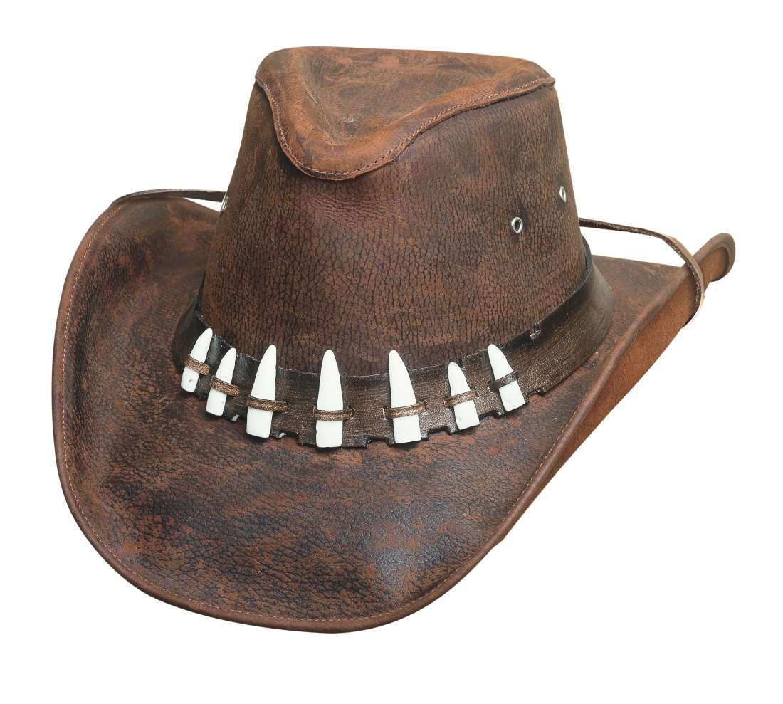 aa3eacf805c Bullhide Spiffy Leather Outback Cowboy Hat