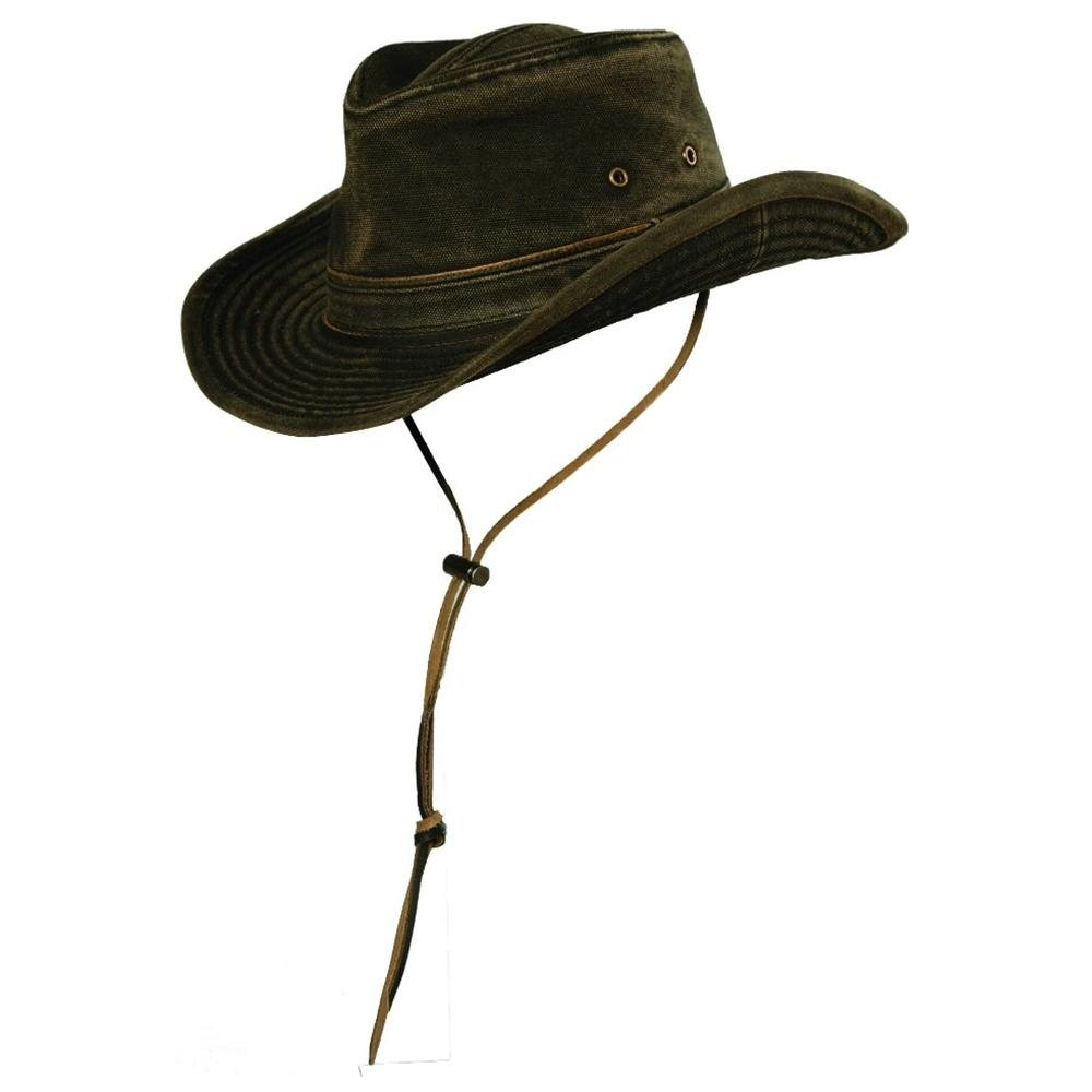 Stetson Dundee Cotton Canvas Outback Hat a1e31760e14