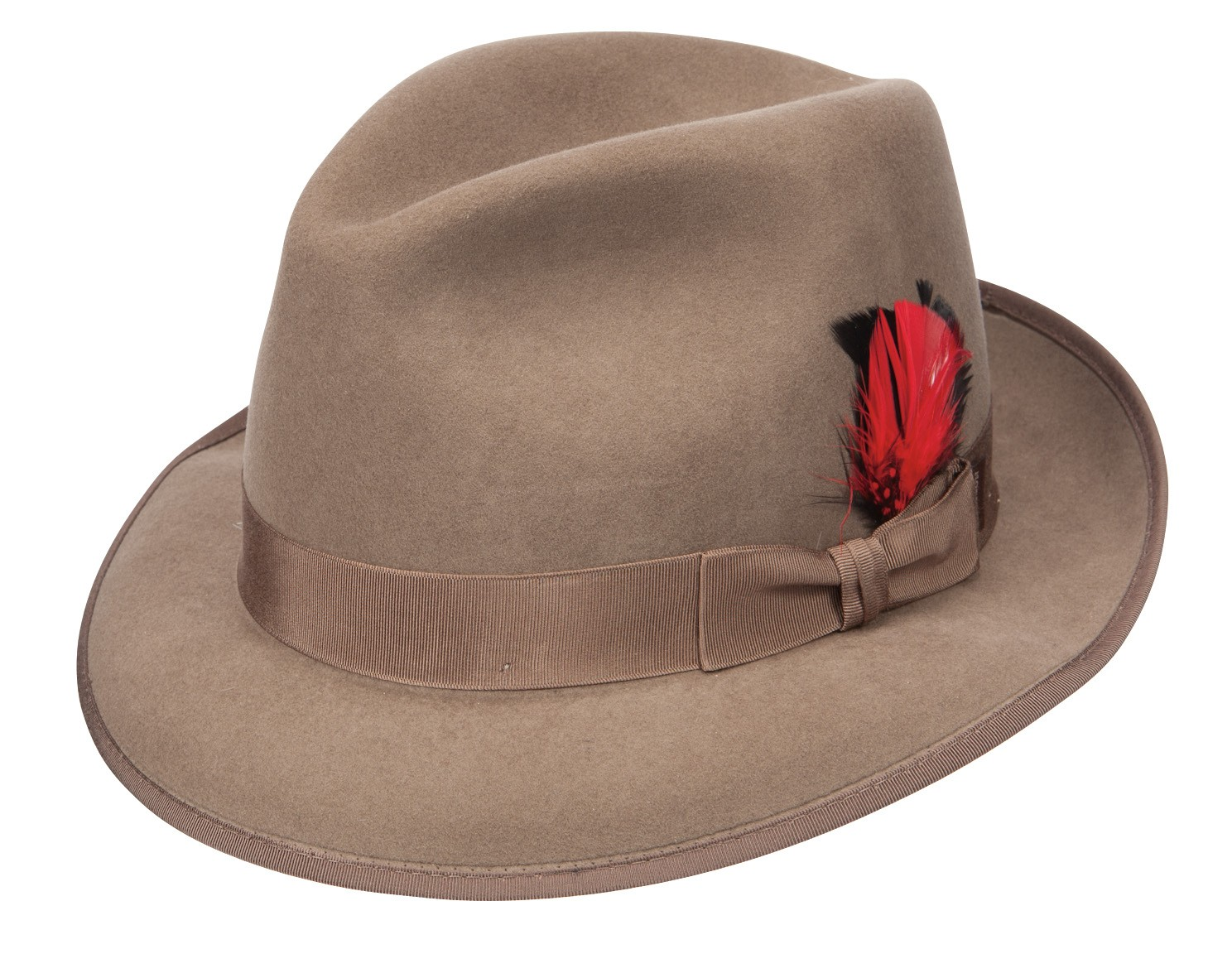Fedora hats have enjoyed nearly a century of popularity due to their versatile look and ease of wear. Originally a women's hat, fedoras became a staple of men's attire after Prince Edward of Britain began wearing the hat in the s.