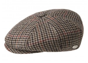 Bailey of Hollywood Galvin Plaid Ivy Cap