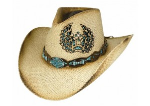 Bullhide Hope Has Wings Straw Cowboy Hat