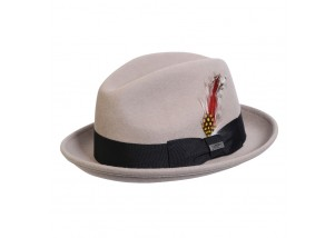 Conner Detroit Wool Fedora Hat