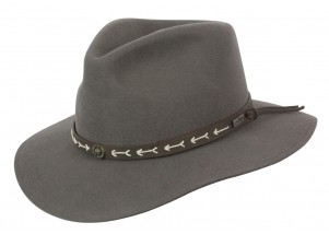 Conner Mt. Warning Wool Outback Fedora Hat