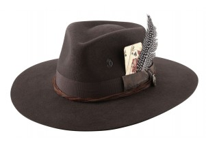 Brittoli Unconditional Wool Felt Wide Brim Fedora