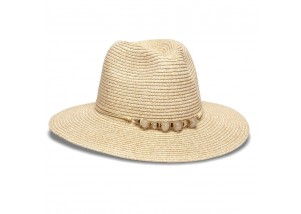 Physician Endorsed Beach Glass Toyo Straw Fedora