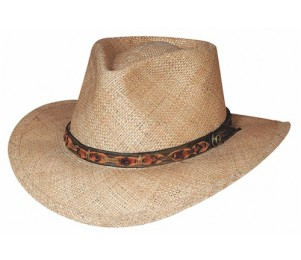 Bullhide Island Magic Straw Resort Hat