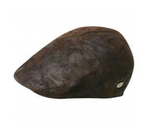 Bailey of Hollywood Lazar Leather 5 Panel Cap