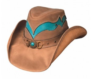 Bullhide Cascade Range Leather Cowboy Hat