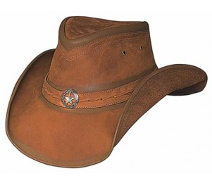 Bullhide Cooper Creek Leather Cowboy Hat