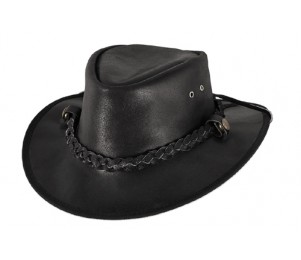 Bullhide Cessnock Leather Outback Hat