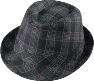 Henschel Plaid Rat Pack Hat