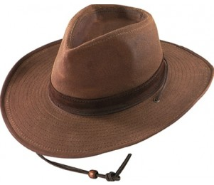Henschel Waxed Cotton Walker Outback Hat