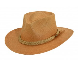 Scala Panama Outback Hat - Putty - M