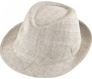 Henschel Cotton Plaid Gentleman Fedora Hat