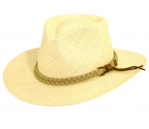 Scala Panama Outback Hat - Natural - M