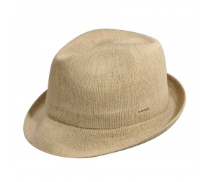 KANGOL Bamboo Arnold Trilby - Beige - S