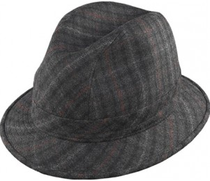 Henschel Cashmere Plaid Gentlemen's Hat