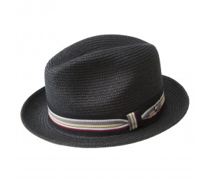 Bailey of Hollywood Salem Summer Braid Fedora - Black - XXL