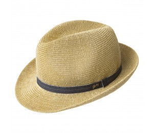 Bailey Elliott Straw Fedora