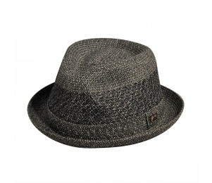 Bailey of Hollywood Kroft Striped Braid Fedora