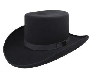 Bailey Frontier Collection Dillinger - Black - 7 3/8 (L)
