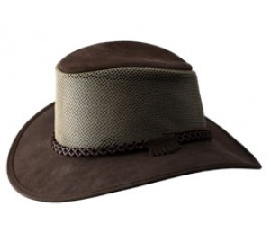 Rocky Mountain Outback Leather Breeze Hat