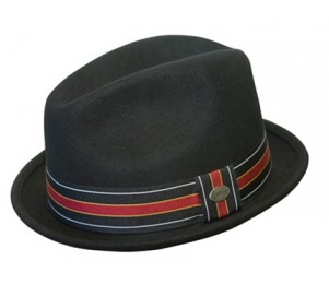 Conner Wool Felt Center Dent Fedora Hat