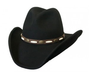 Conner Waterproof Wool Western Hat