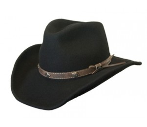 Conner Wool Felt Shapeable Western Hat