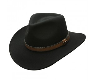 Conner Wool Felt Crushable Outback Hat