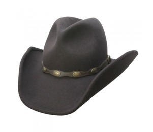 Conner Stallion Wool Western Hat