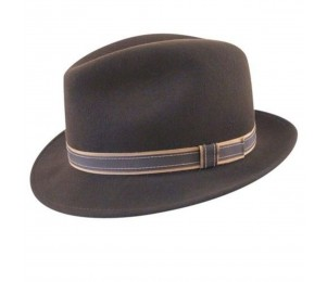 Country Gentleman Clooney Wool Fedora hat