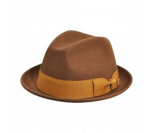 Country Gentleman Floyd Stingy Brim Wool Fedora Hat