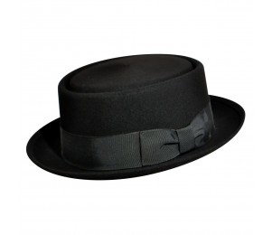Country Gentleman Walt Pork Pie Wool Hat
