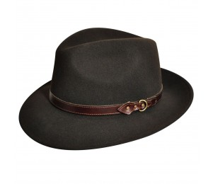 Country Gentleman Dunmore Wool Felt Fedora Hat