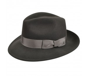 Country Gentleman Frederick Wool Felt Fedora Hat