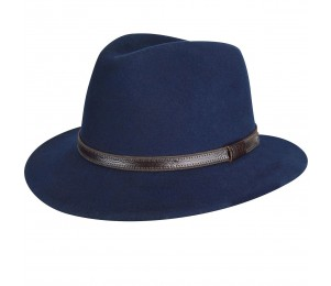 Country Gentleman Hamilton Wool Felt Fedora Hat