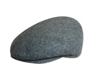 Christys' of London Wool Herringbone Ivy Cap