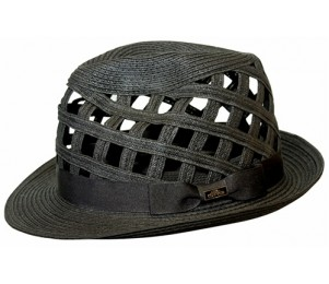 Conner Sewn Braid Ventilated Fedora