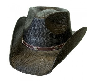 Conner Toyo Straw Horseshoe Band Western Hat
