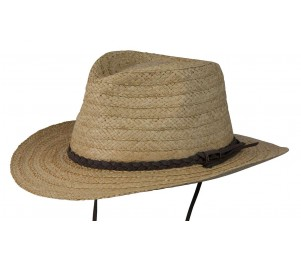 Conner Myrtle Beach Straw Hat - Natural - L/XL