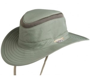 Conner Floatable Supplex Safari Hat - Olive - L