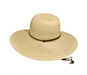 Pantropic River Roll-up Straw Sun Hat-Natural-S