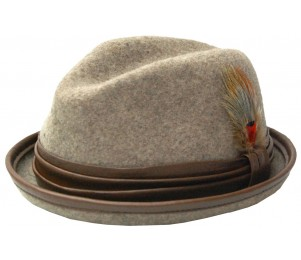 Stitch Hats Matchbox Stingy Brim Fedora