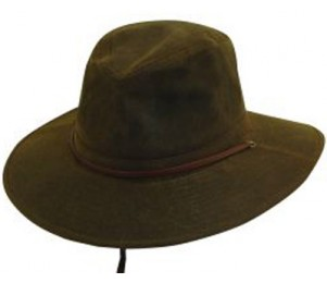 DPC Outdoor Design Oil Cloth Safari Hat