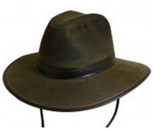 DPC Oil Cloth Safari Hat with Fleece Lining
