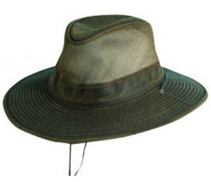 DPC Outdoor Weathered Cotton Vented Outback Hat