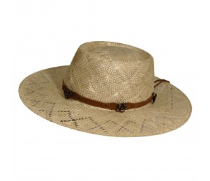 Renegade Honey Straw Western Hat